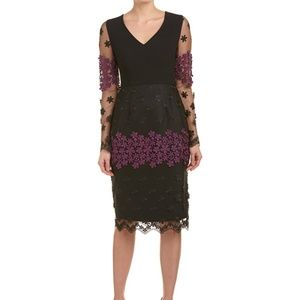 NWT Embroidered Lace Dress Sz 2